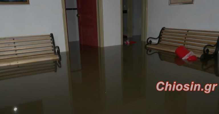 Πλημμύρες και καταστροφές από την κακοκαιρία – «Πνίγηκαν» Χίος και Ξάνθη