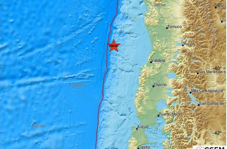 Σεισμός 6,7 ρίχτερ στη Χιλή