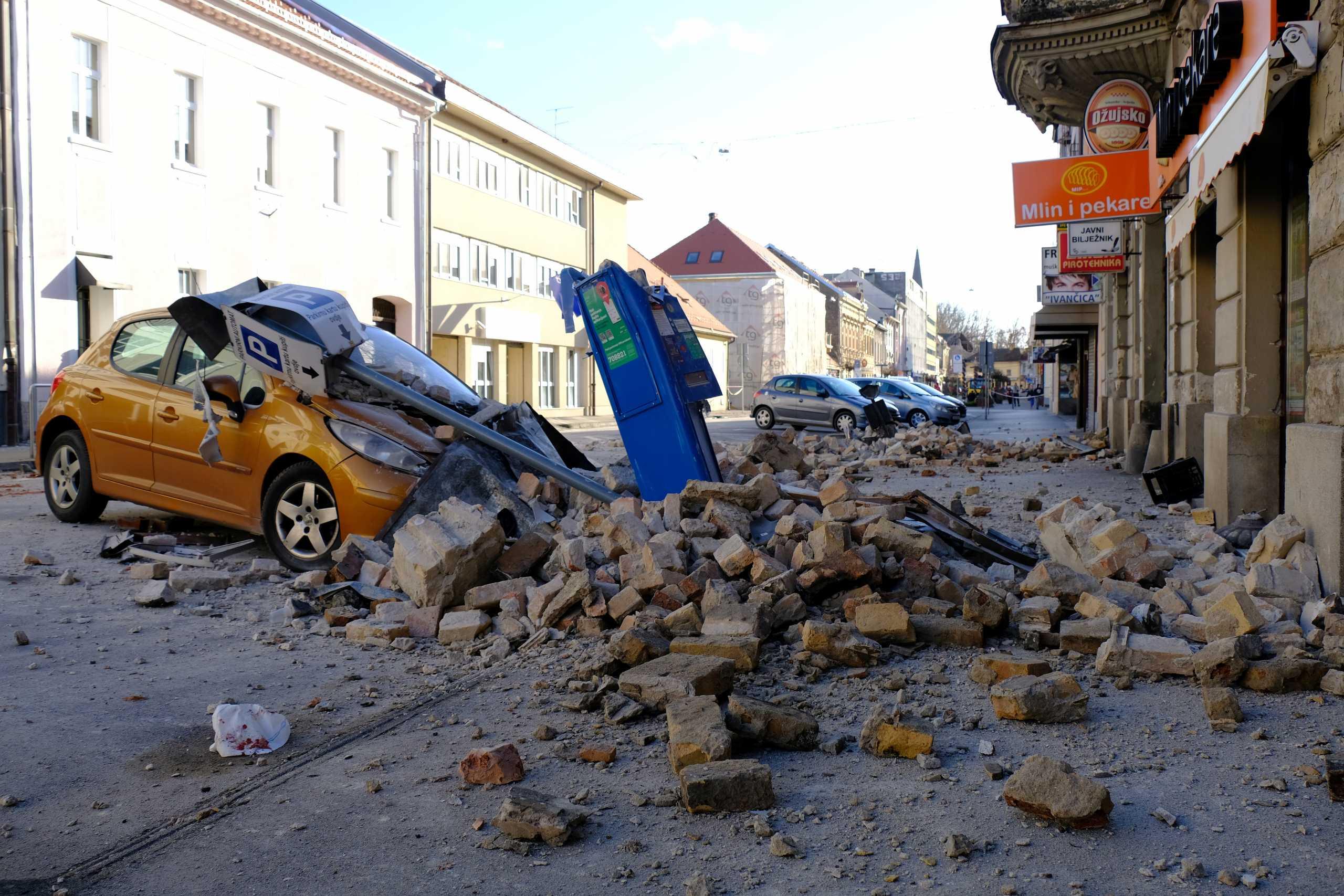 Σεισμός 6,4 ρίχτερ συγκλόνισε την Κροατία – Συναγερμός σε γειτονικές χώρες
