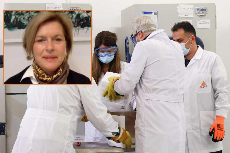 """Μ. Γκάγκα: """"Δεν έχω καμία παρενέργεια μέχρι τώρα"""" – Την Τρίτη ο εμβολισμός για τον κορονοϊό και εκτός Αθηνών"""