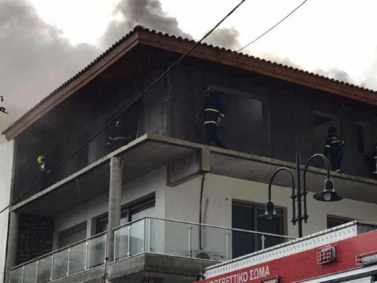 Κεραυνός χτύπησε σπίτι στη Ρόδο! Συναγερμός στην Πυροσβεστική! (pics)