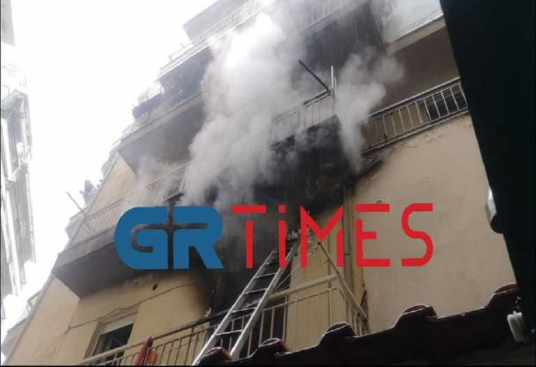Θεσσαλονίκη: Φωτιά σε διαμέρισμα – Κινδύνευσαν ηλικιωμένοι