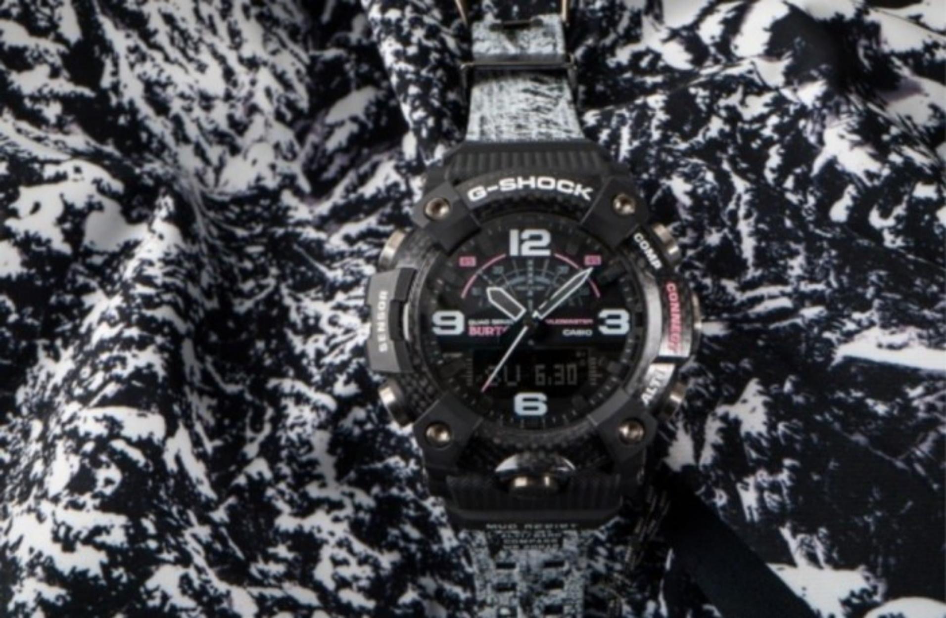 Ένα στιβαρό ρολόι από την G-Shock που θα ζήλευε ακόμα και ο James Bond