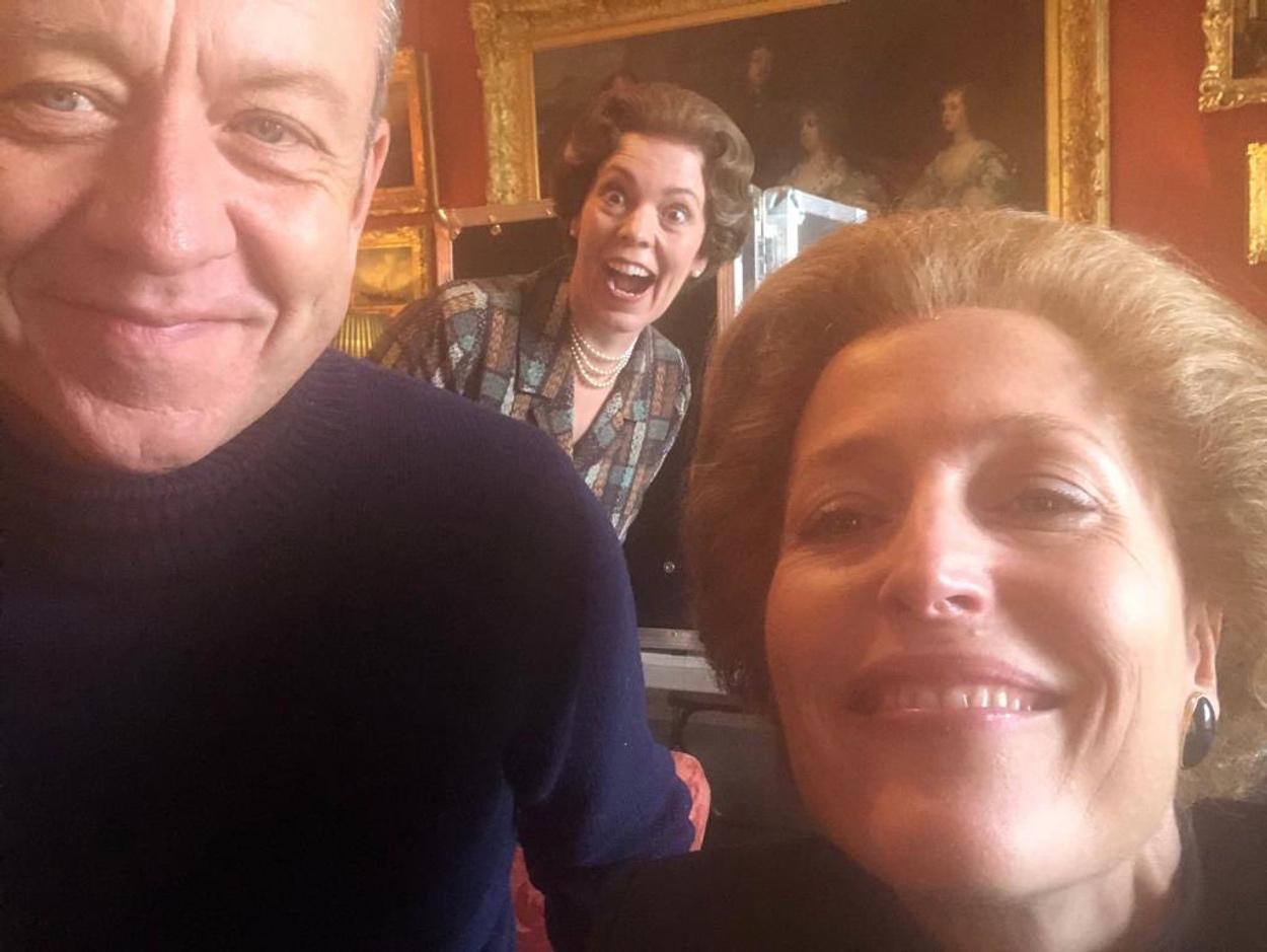 Gillian Anderson: Χώρισε με τον συγγραφέα της σειράς The Crown