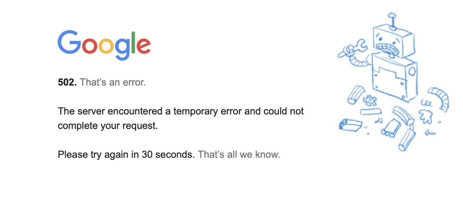 «Έπεσαν» Google και YouTube σε όλο τον κόσμο