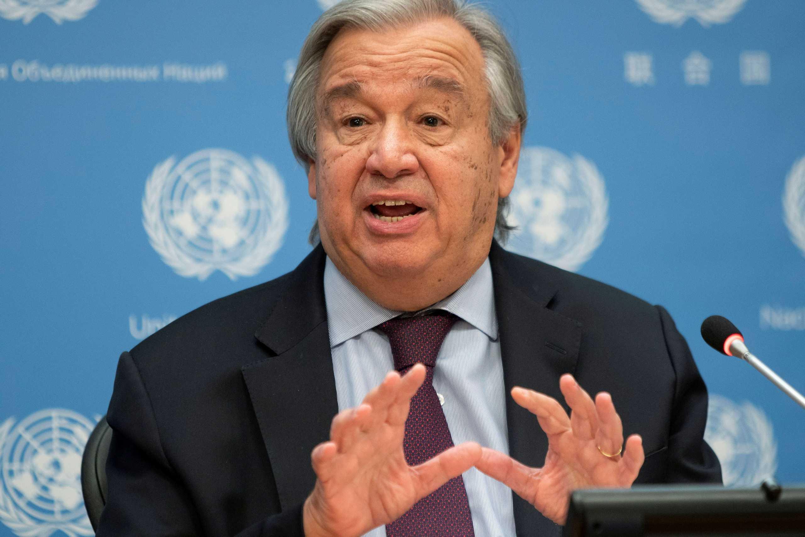 ΟΗΕ: Πάει και για δεύτερη θητεία ο Γκουτέρες