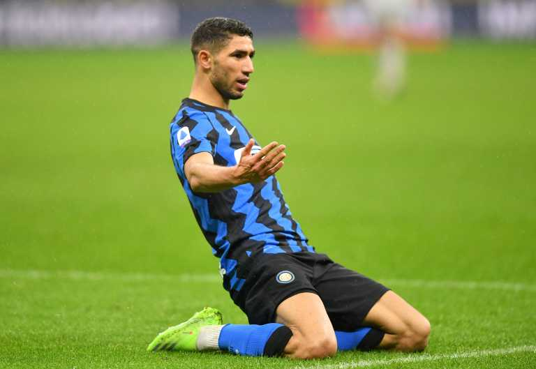 "Serie A: Μια ""ανάσα"" από την κορυφή η Ίντερ με Χακίμι και Λουκάκου (video)"