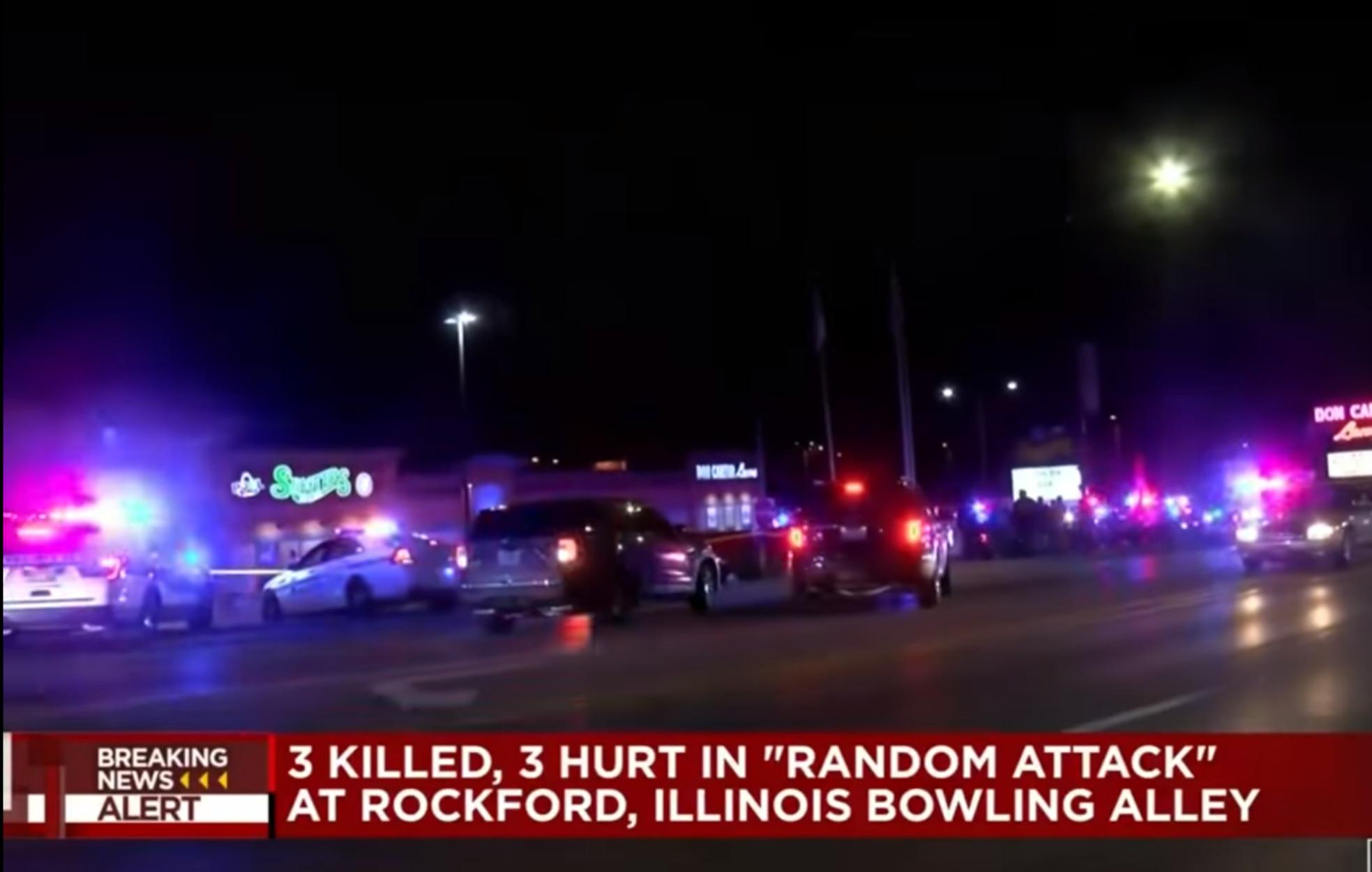 Μακελειό στο Ιλινόι: Τρεις νεκροί και τρεις τραυματίες από πυροβολισμούς σε αίθουσα μπόουλινγκ (video)
