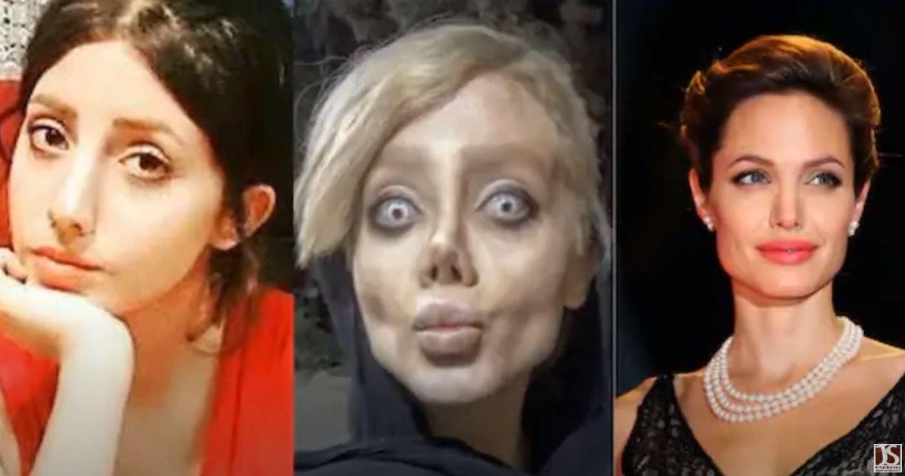 Δέκα χρόνια φυλακή «έφαγε» η Ιρανή σταρ του Instagram που θύμιζε «ζόμπι εκδοχή» της Αντζελίνα Τζολί (pics, vid)