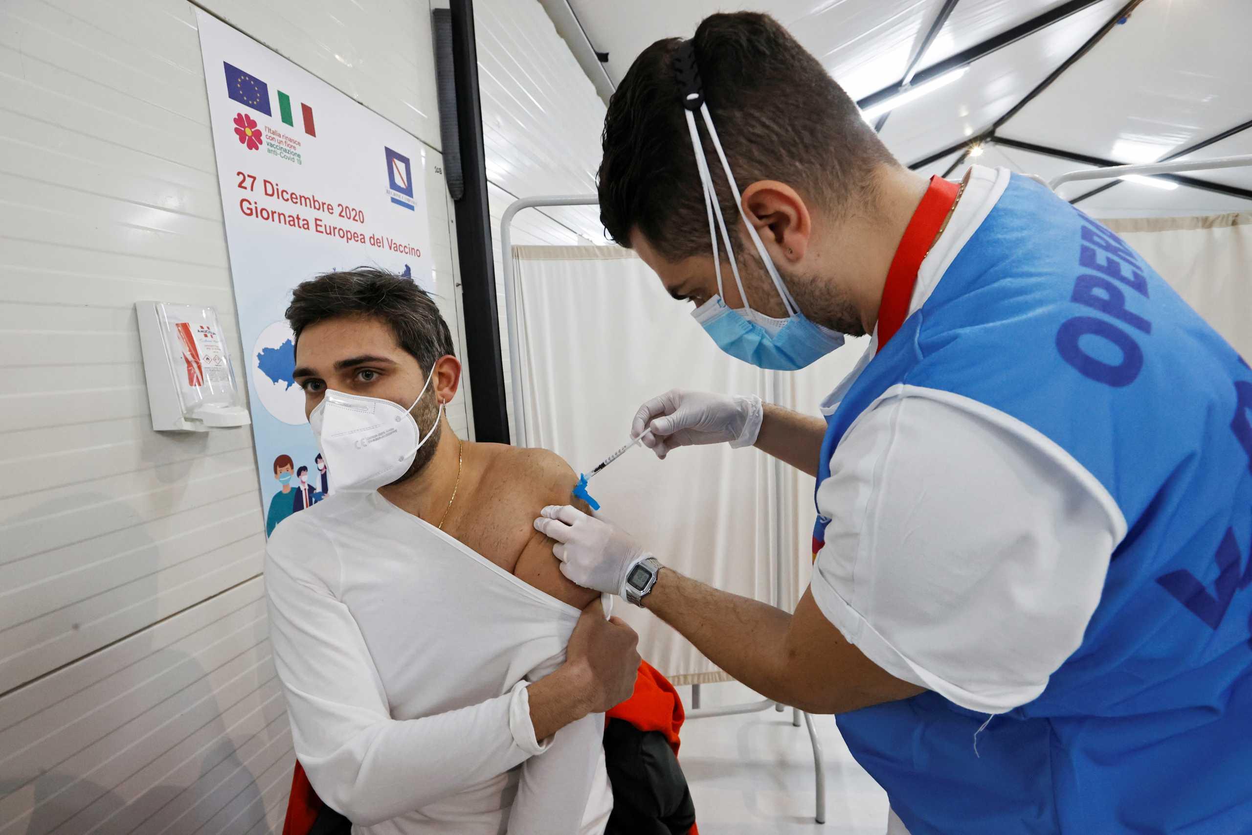 Κορονοϊός: «Πρωταθλητές» οι Γάλλοι μεταξύ των αρνητών του εμβολίου