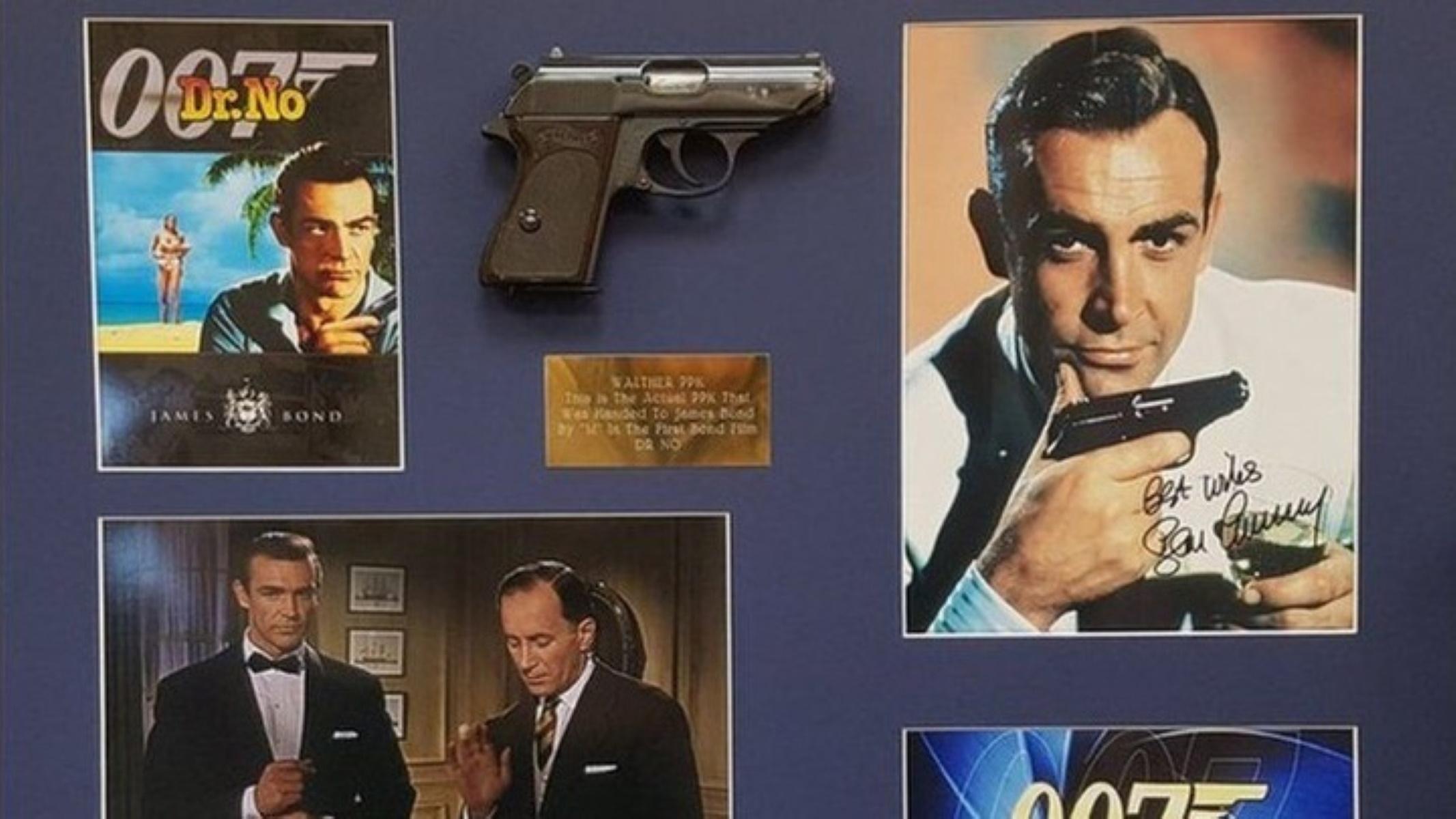 """Ποσό μαμούθ για το πιστόλι από την πρώτη ταινία """"Τζέιμς Μποντ"""""""