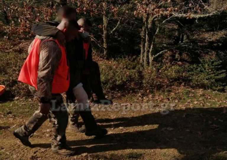 Φθιώτιδα: Επιχείρηση διάσωσης κυνηγού που αυτοπυροβολήθηκε (pics)