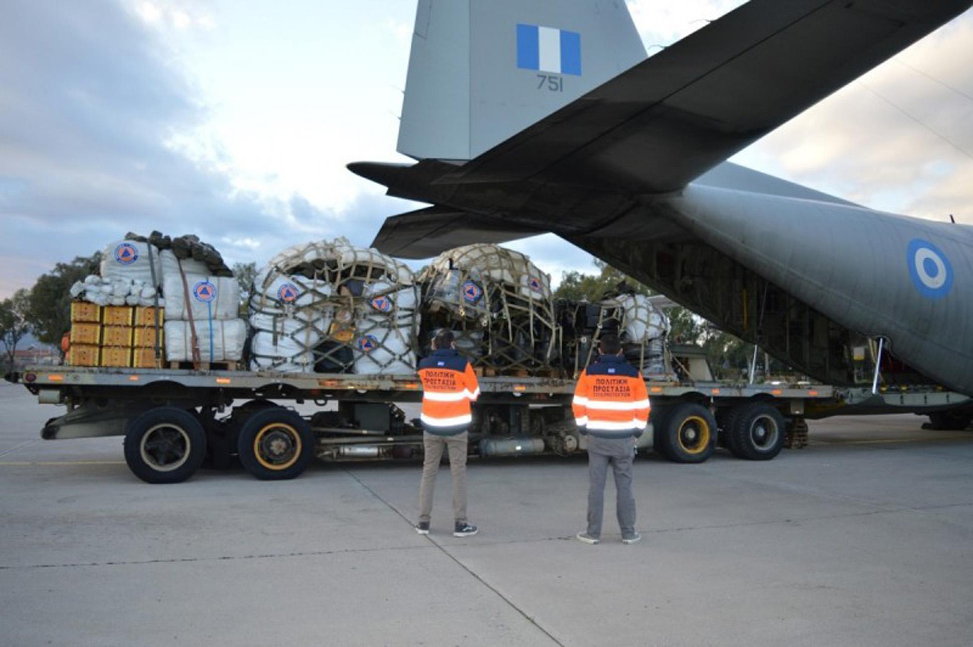 Κροατία: Έφτασε η ελληνική βοήθεια μετά τον καταστροφικό σεισμό