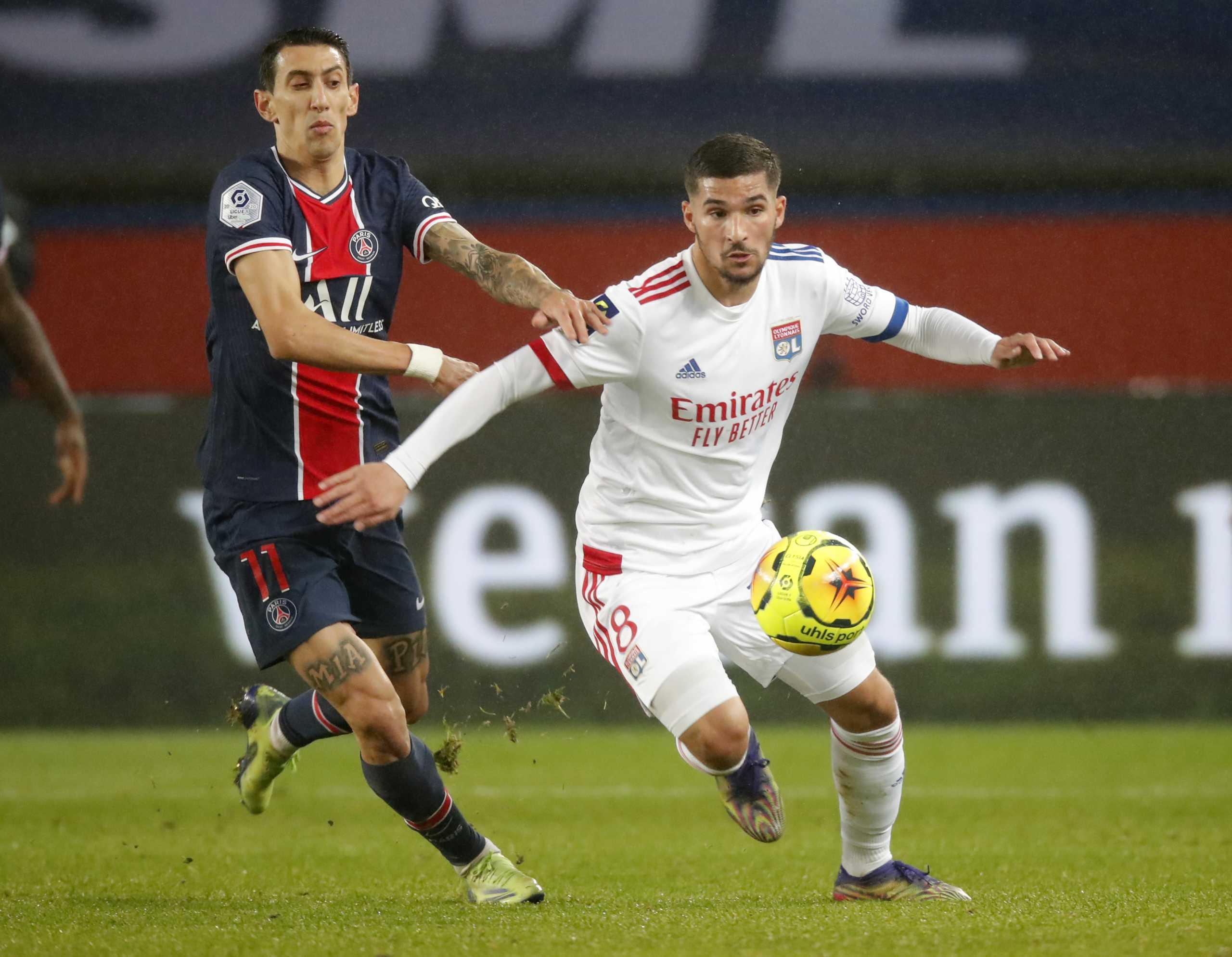 Η Λιόν «πάγωσε» την Παρί Σεν Ζερμέν κι έβαλε «φωτιά» στη Ligue 1 (video)
