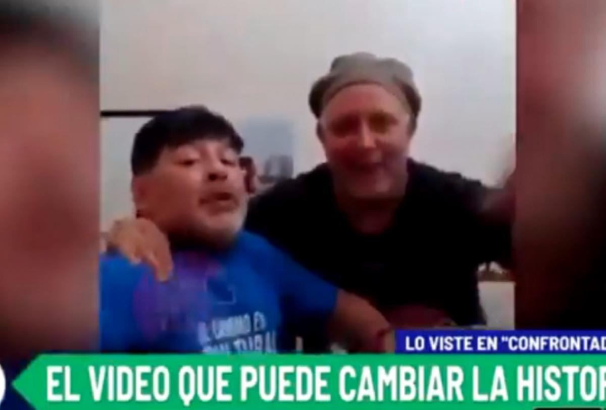 Το νέο βίντεο του Μαραντόνα που προκαλεί σάλο