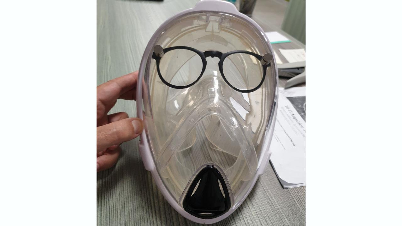 Μάσκα… εξολοθρευτής από το ΑΠΘ – Αποστειρώνει και τον εκπνεόμενο αέρα! Πως λειτουργεί (pics)