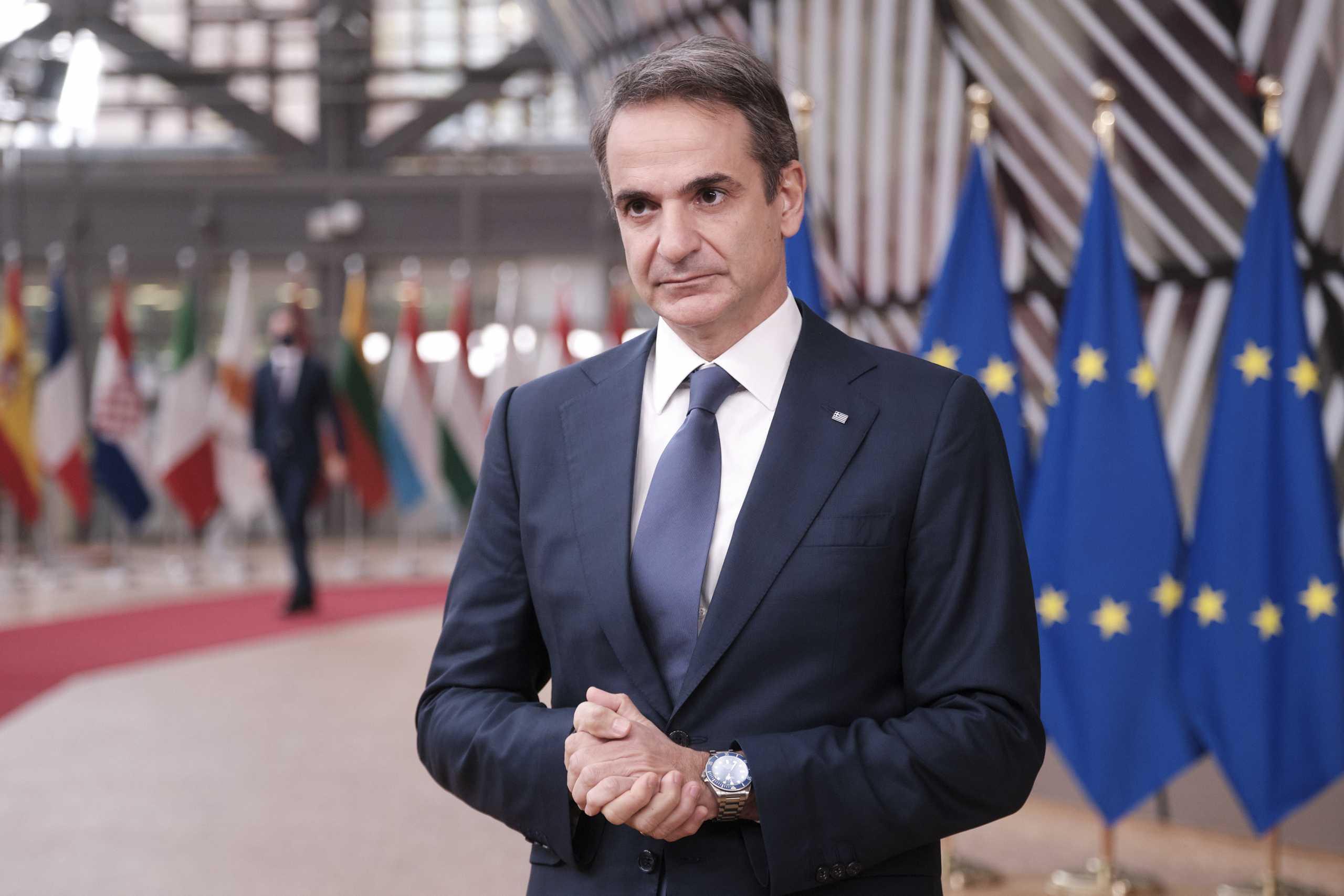 Μητσοτάκης: Θα θέλαμε περισσότερη στήριξη από την Ευρώπη απέναντι στην Τουρκία