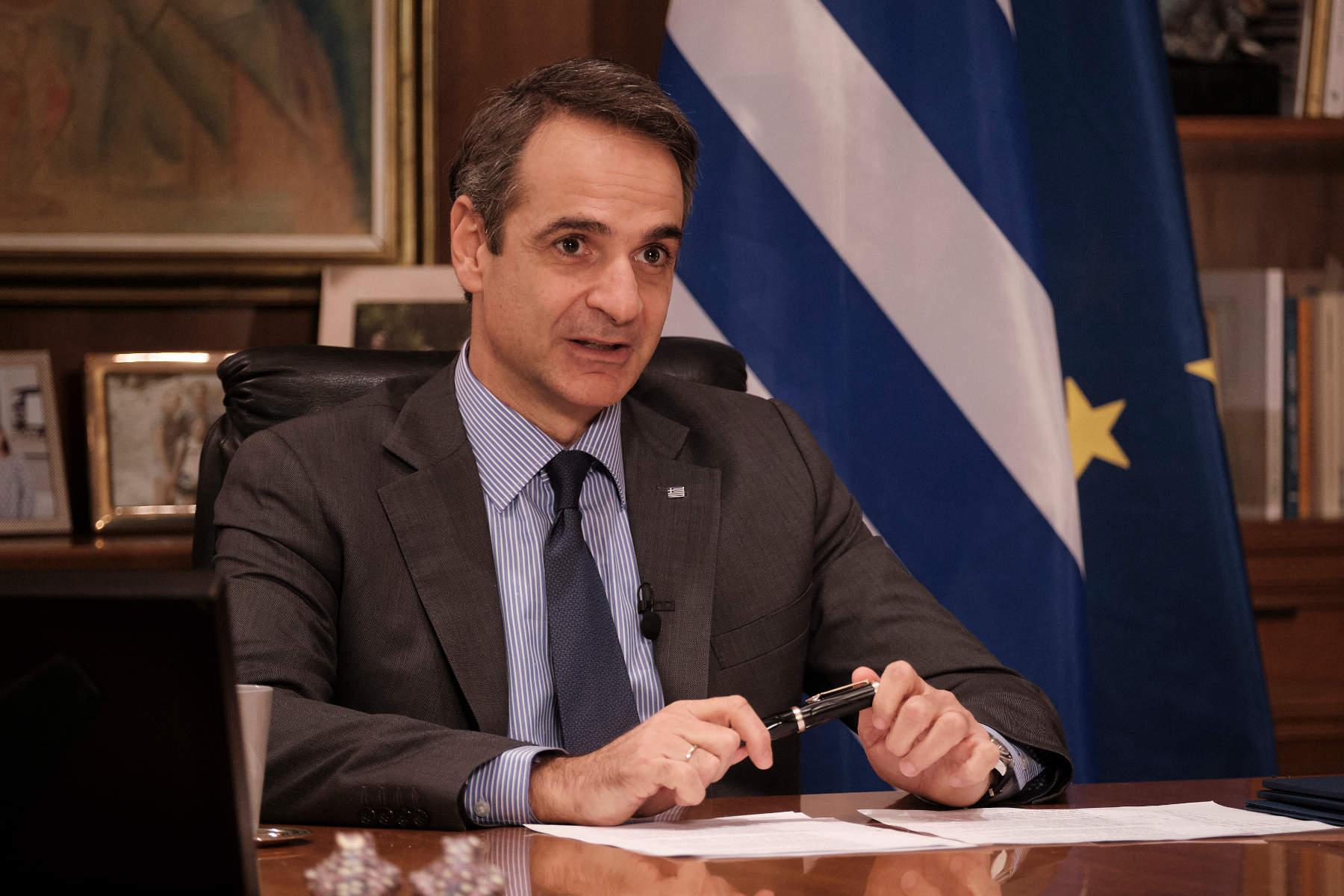Μητσοτάκης: Επικοινωνία με τον νέο πρωθυπουργό της Ρουμανίας για το «πιστοποιητικό εμβολιασμού»