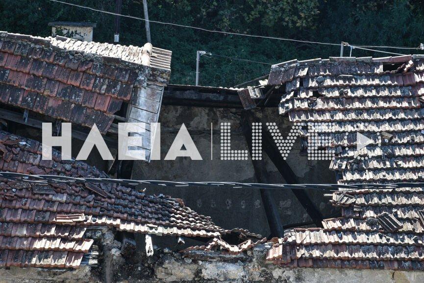 """Πύργος: Καταρρέει το παλιό μηχανοστάσιο του ΟΣΕ! Ένα """"διαμάντι"""" που παραμένει βουτηγμένο στη λάσπη της εγκατάλειψης"""