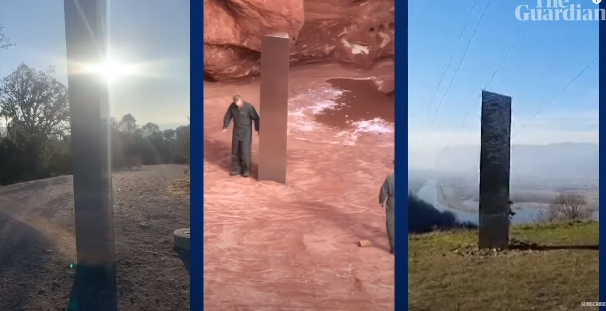 Παντού μονόλιθοι: Μετά τη Γιούτα και τη Ρουμανία, νέα μυστηριώδης εμφάνιση στην Καλιφόρνια (pics, vid)