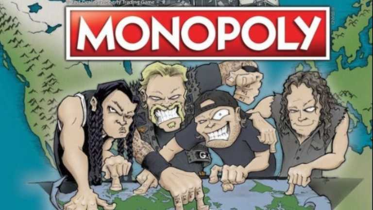 "Ήρθε η νέα Monopoly ""Metallica World Tour"""