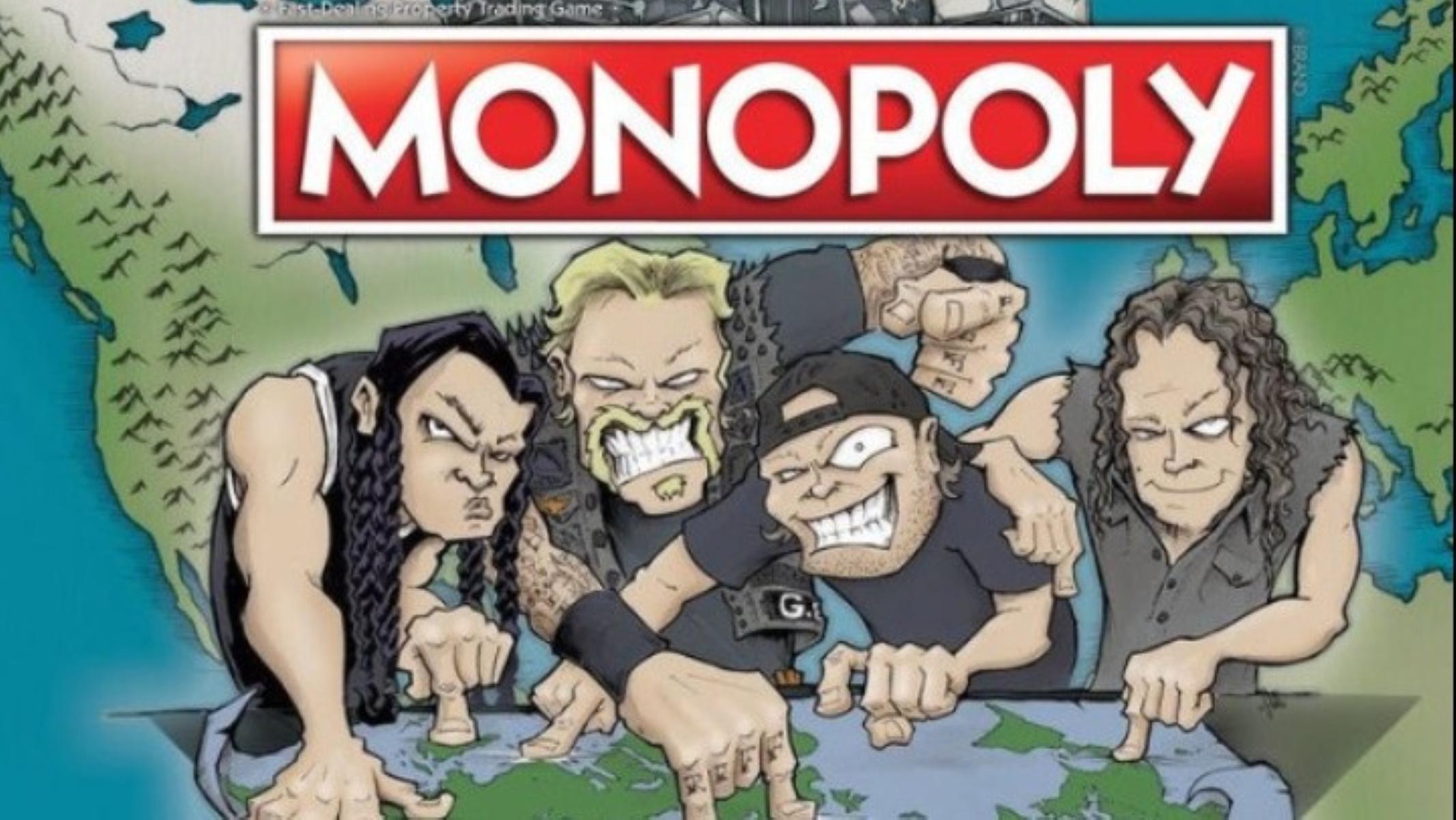 """Ήρθε η νέα Monopoly """"Metallica World Tour"""""""