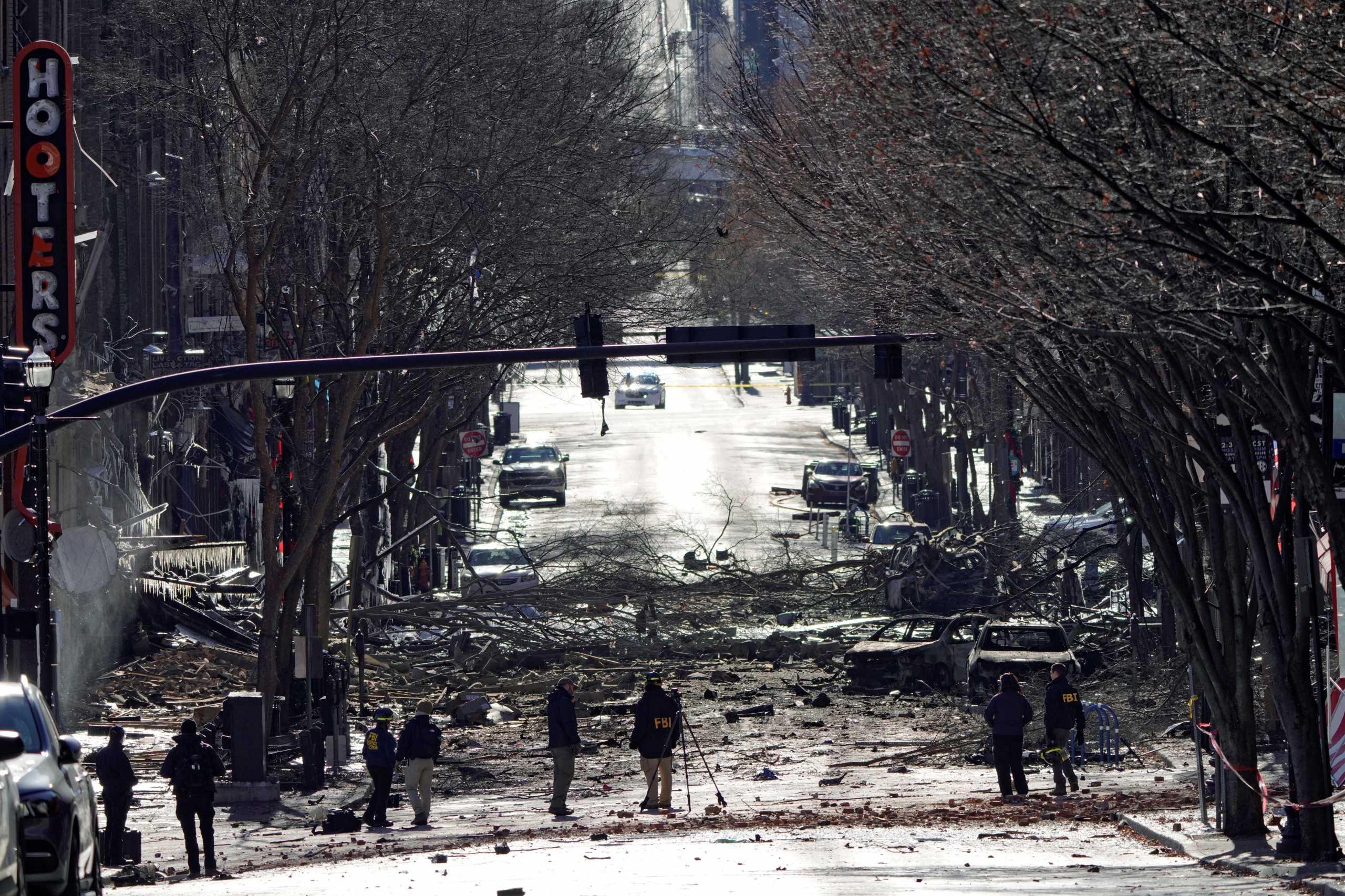 Μυστήριο παραμένει η τρομοκρατική επίθεση στο Νάσβιλ (video)