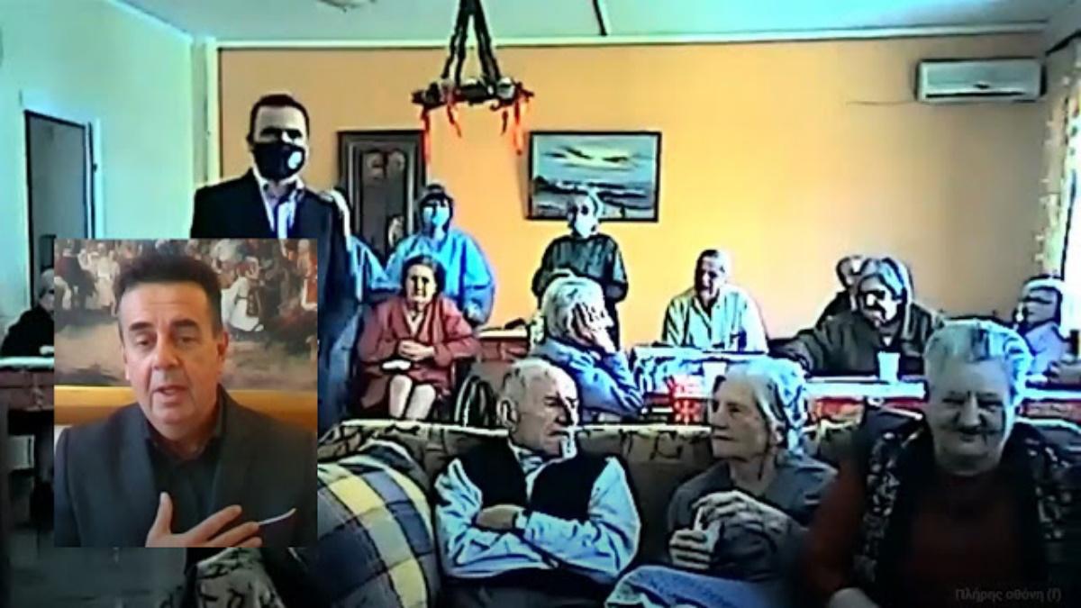 Ναύπλιο: Η χριστουγεννιάτικη έκπληξη ηλικιωμένων του γηροκομείου στον δήμαρχο (vid)