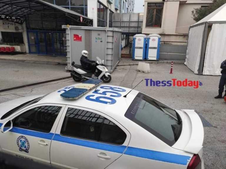 Θεσσαλονίκη: Ασθενής με κορονοϊό στο Ιπποκράτειο αποπειράθηκε να αυτοκτονήσει