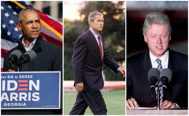 ΗΠΑ: Τρεις πρώην Πρόεδροι δηλώνουν έτοιμοι να εμβολιαστούν δημόσια κατά του κορονοϊού