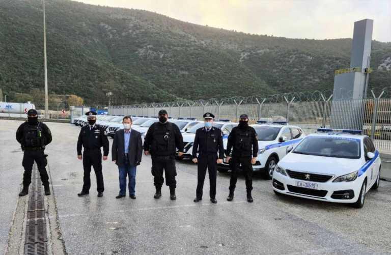 Δεκατέσσερα νέα υπηρεσιακά οχήματα παρέλαβε η Αστυνομική Διεύθυνση Θεσπρωτίας