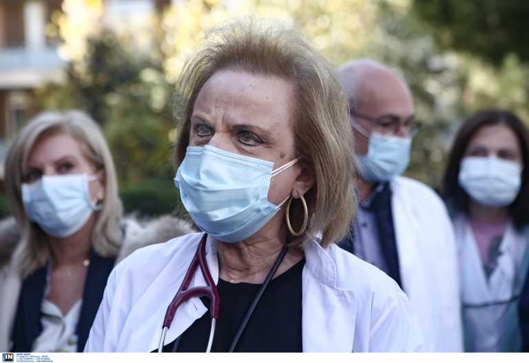 Κορονοϊός – Παγώνη: Φοβόμαστε τρίτο κύμα, να τρέξει ο εμβολιασμός