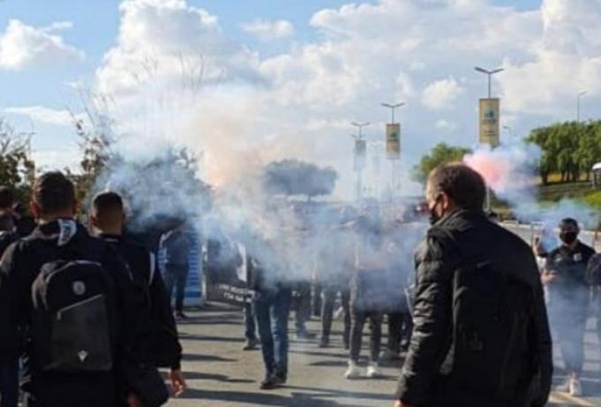 ΠΑΟΚ: Αποθέωση για Γκαρσία και παίκτες στην Κύπρο