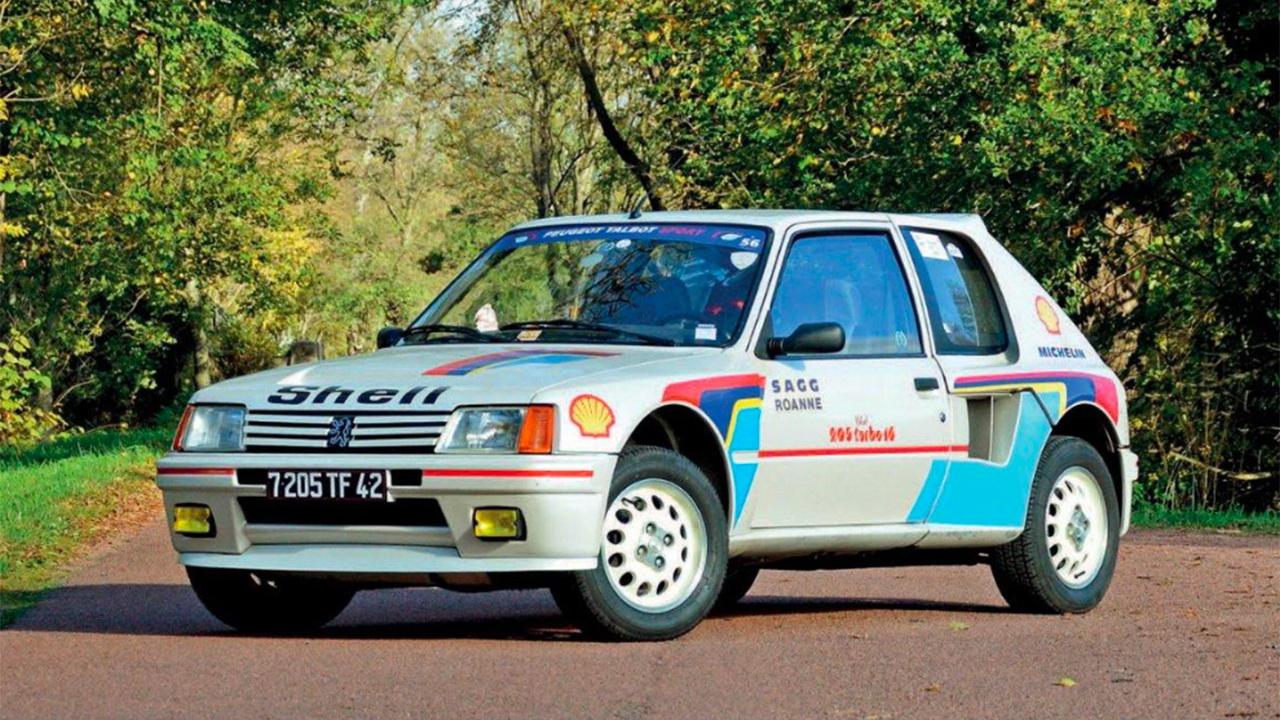 Πωλείται σπάνιο Peugeot 205 T16 σε δημοπρασία [pics]