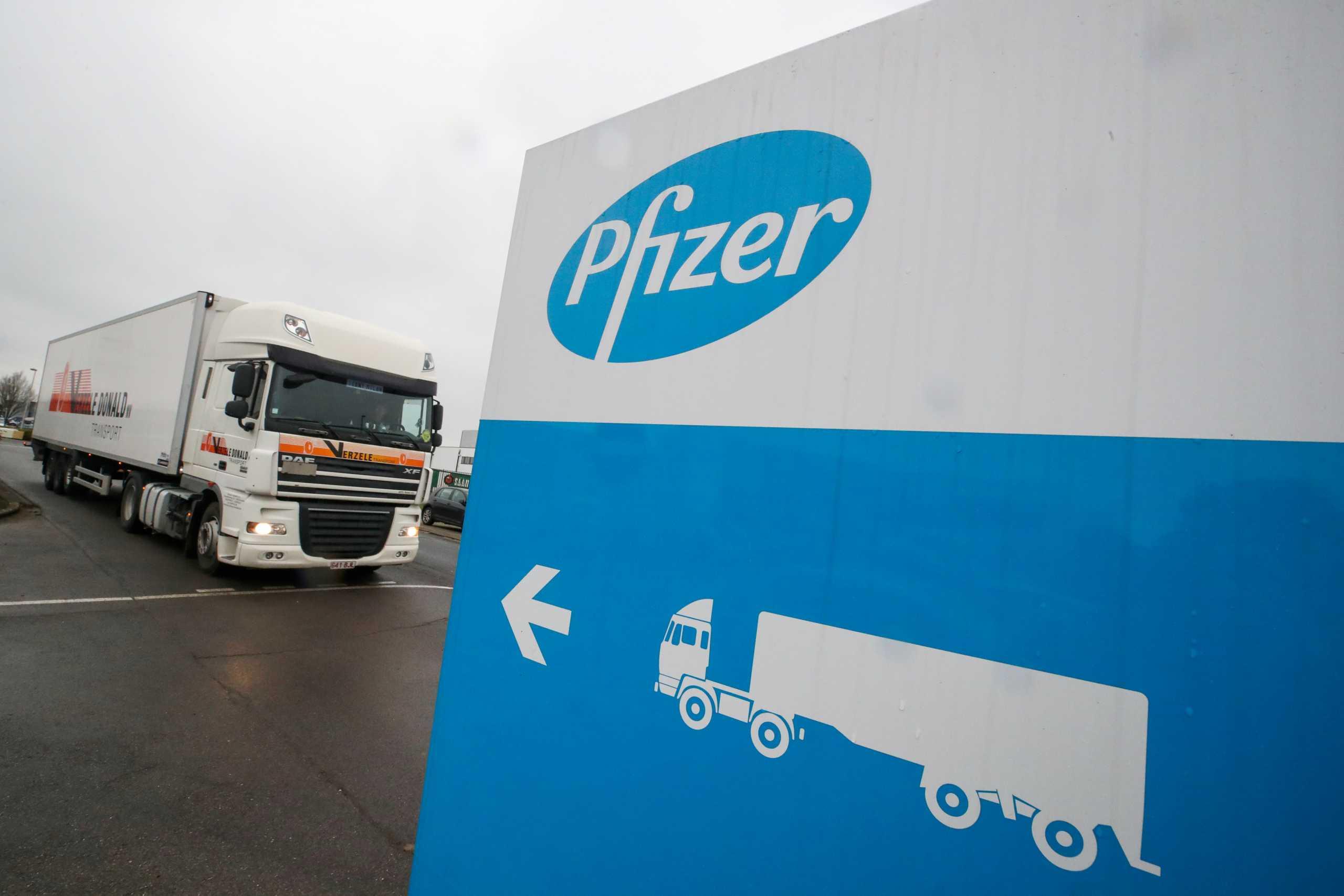 Pfizer: Αλλαγές στις παραδόσεις του εμβολίου της στις ΗΠΑ