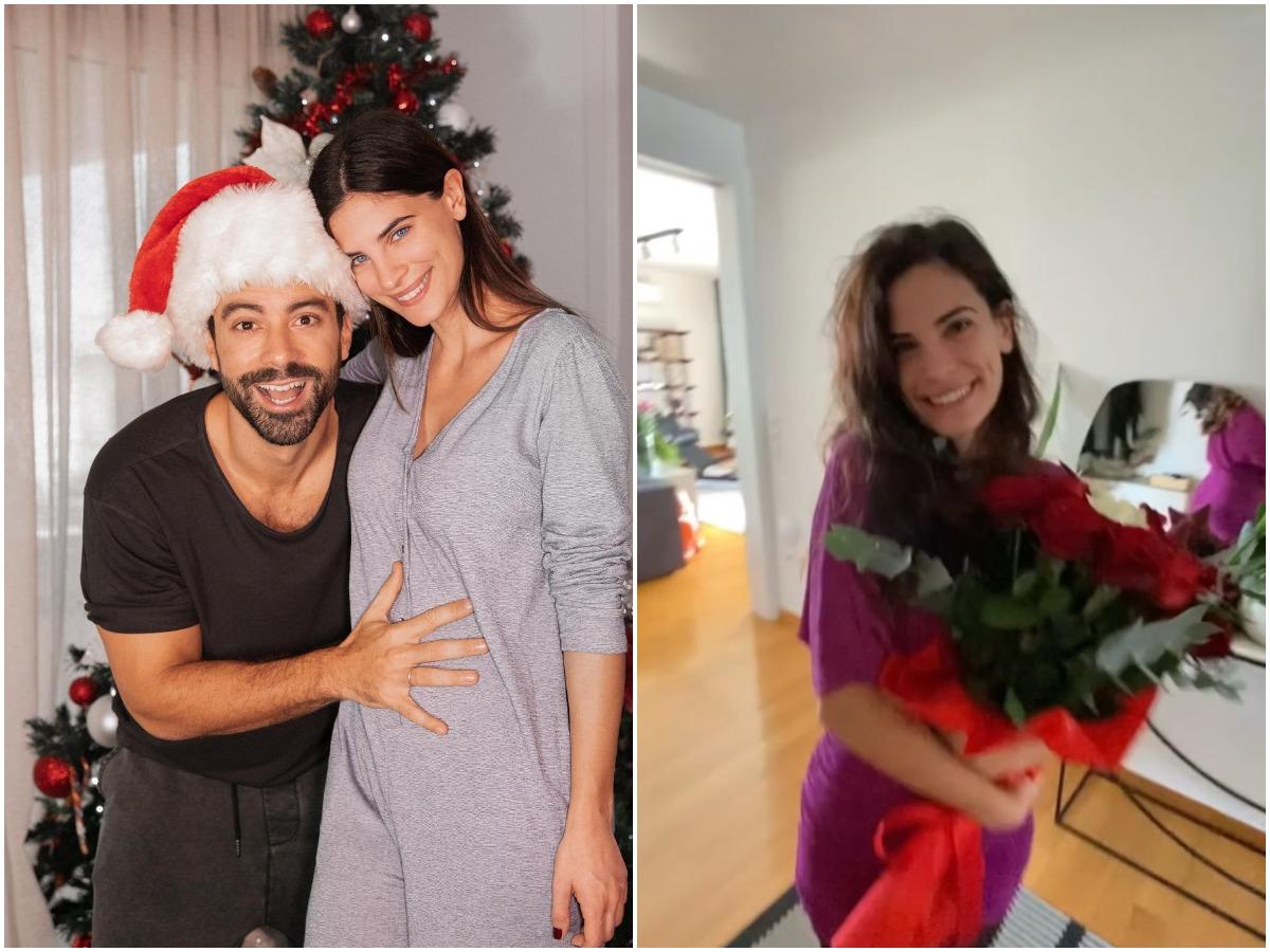 Σάκης Τανιμανίδης: Συγκινημένη η Χριστίνα Μπόμπα με την έκπληξη του συζύγου της για τη γιορτή της