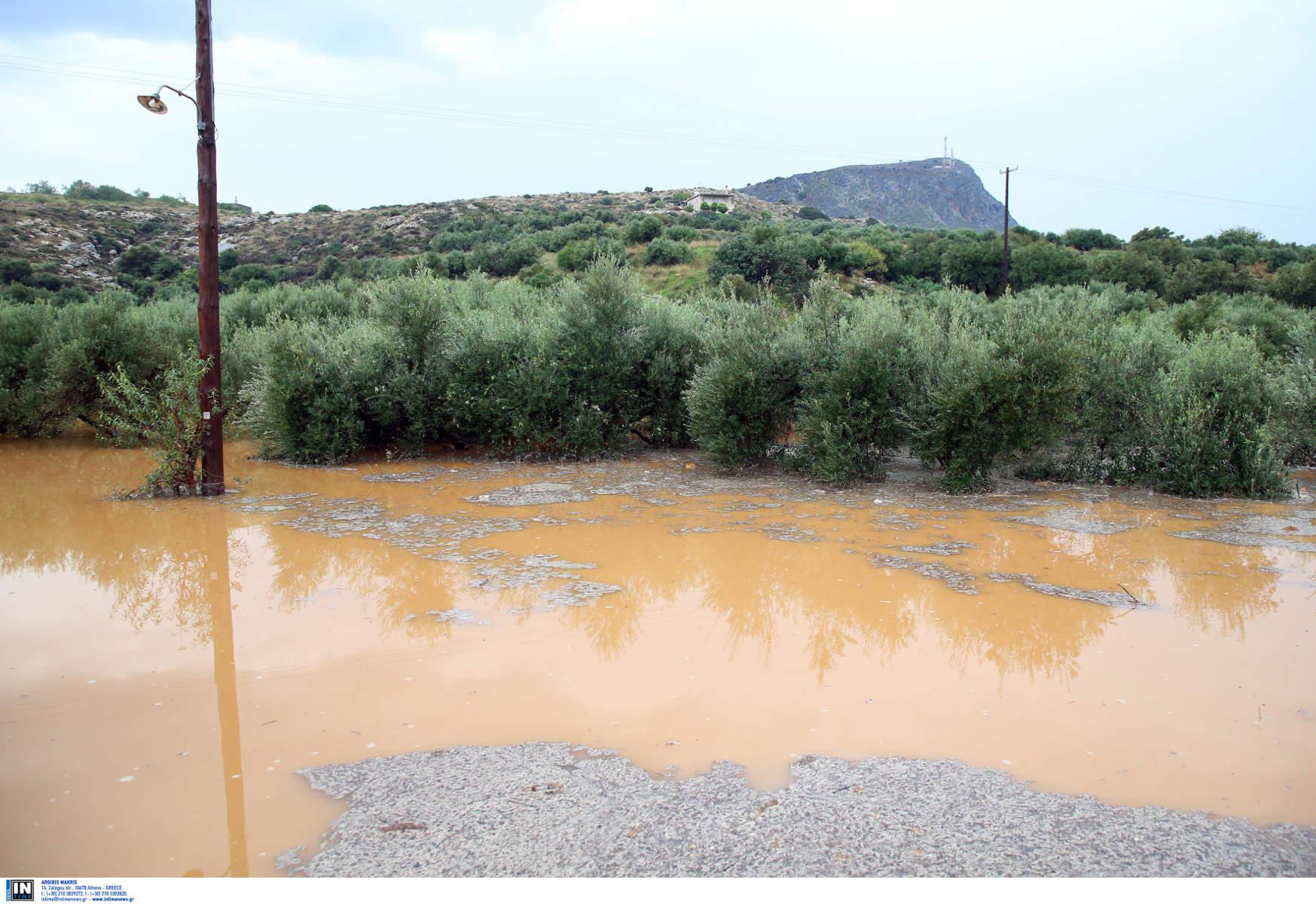 Πολλά προβλήματα από την κακοκαιρία σε όλη την Ελλάδα – Διακοπές κυκλοφορίας και κλήσεις στην πυροσβεστική