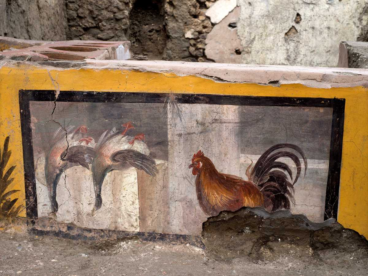 Ιταλία: Ανακαλύφθηκε ρωμαϊκό fast food στην Πομπηία (pics)