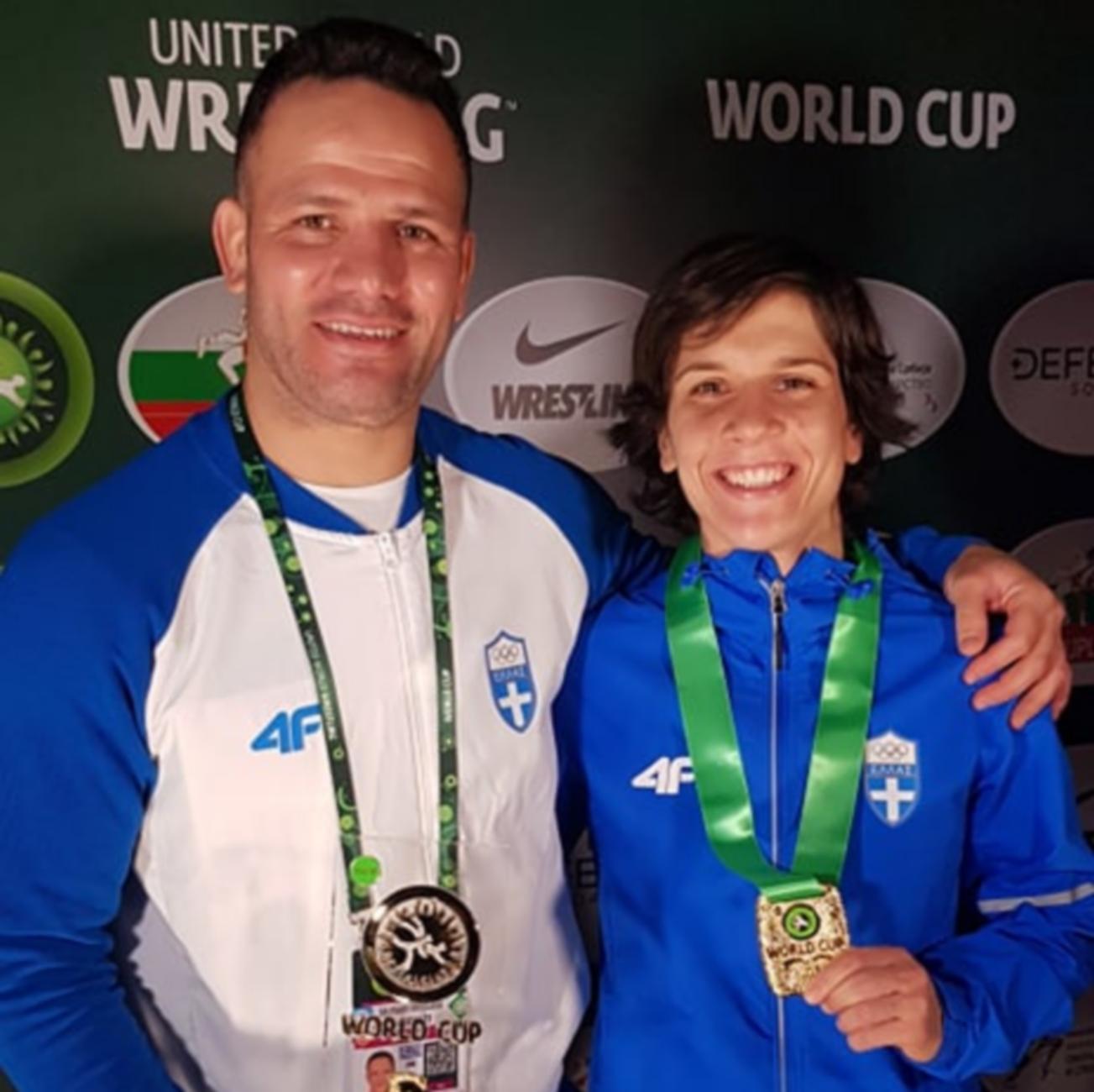 Η Πρεβολαράκη για το χρυσό μετάλλιο: «Με πείσμωσαν οι ατυχίες»
