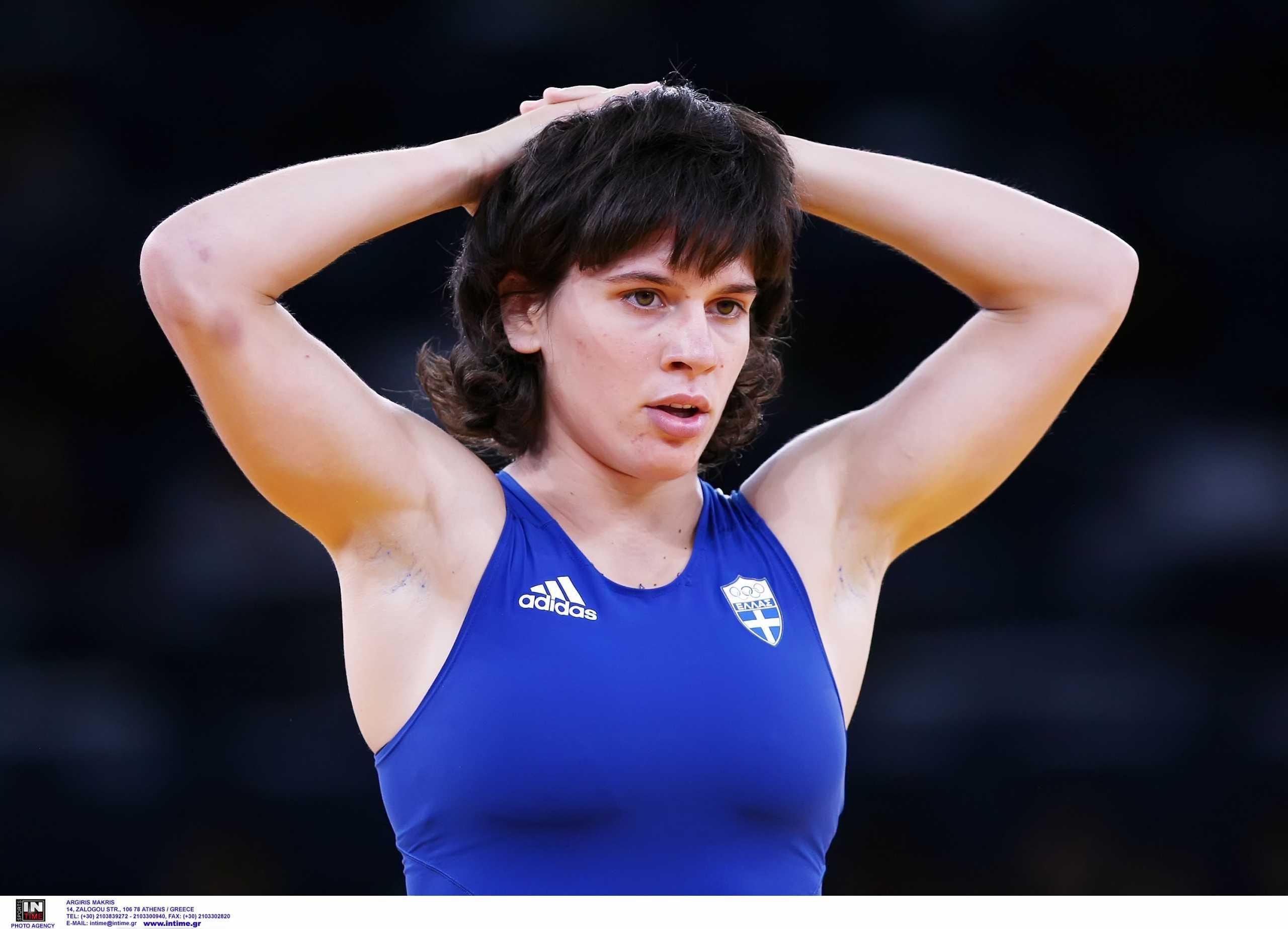 Μαρία Πρεβολαράκη: Πρόωρος αποκλεισμός για την Ελληνίδα πρωταθλήτρια της πάλης στους Ολυμπιακούς Αγώνες