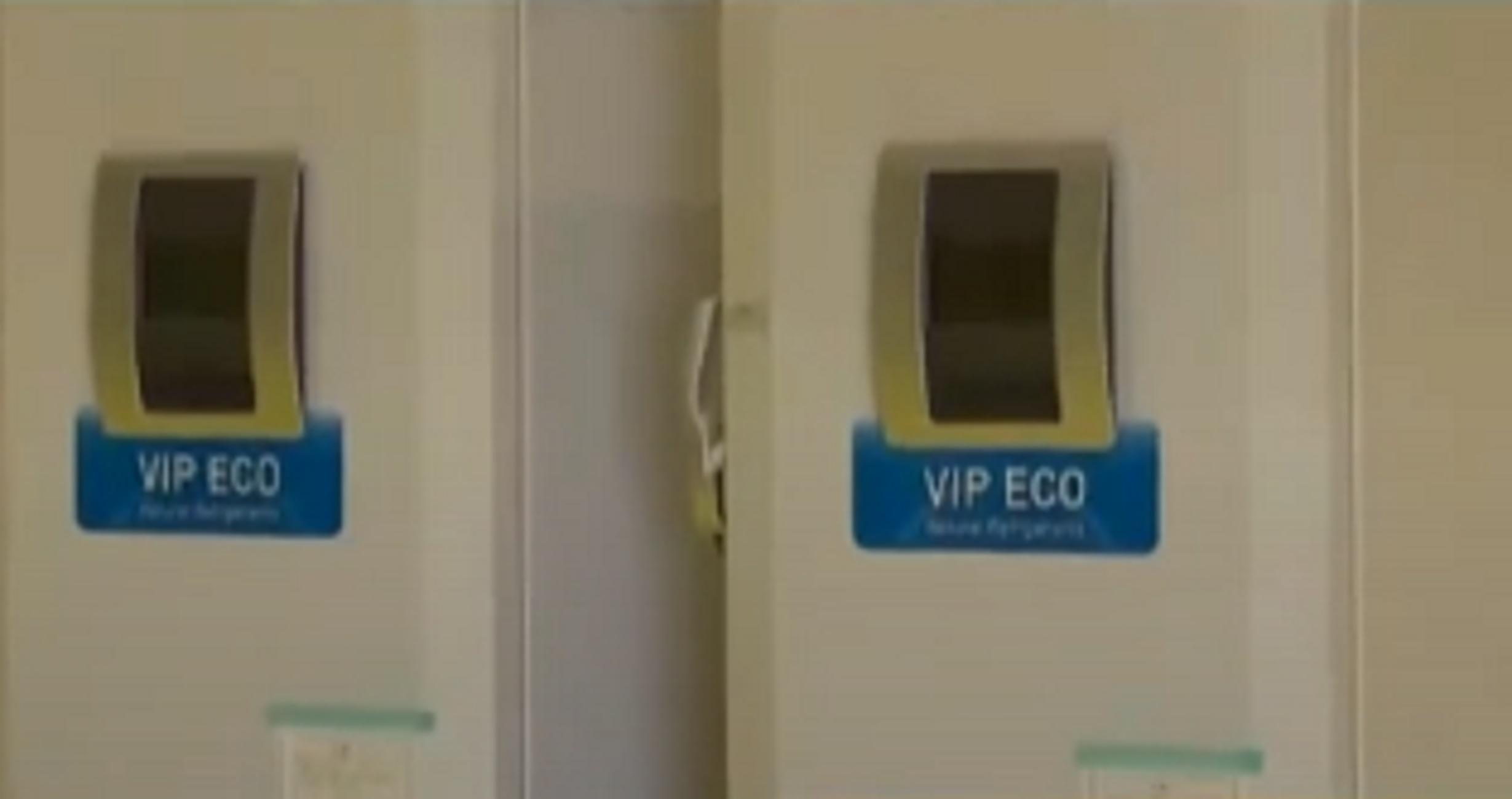 Θεσσαλονίκη – Κορονοϊός: Έφτασαν τα πρώτα ψυγεία για τη συντήρηση των εμβολίων στους – 80 βαθμούς (video)