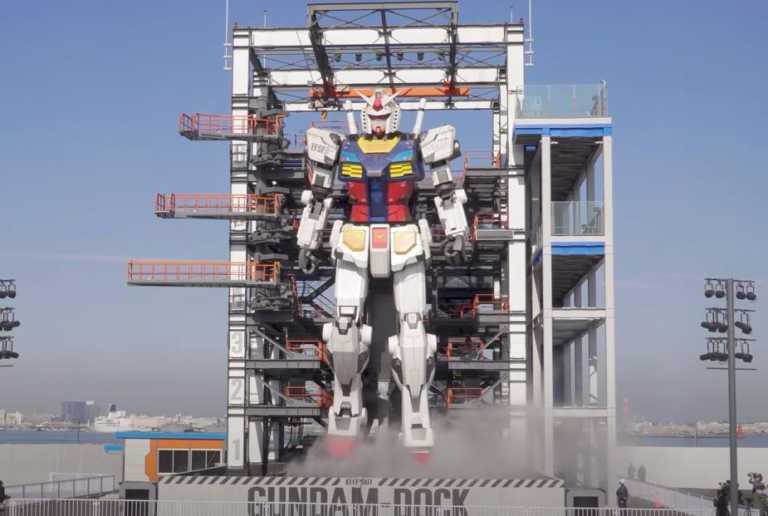 Ιαπωνία: Ρομπότ 17 μέτρων μπορεί να κινήσει χέρια, πόδια και κεφάλι! (vid)