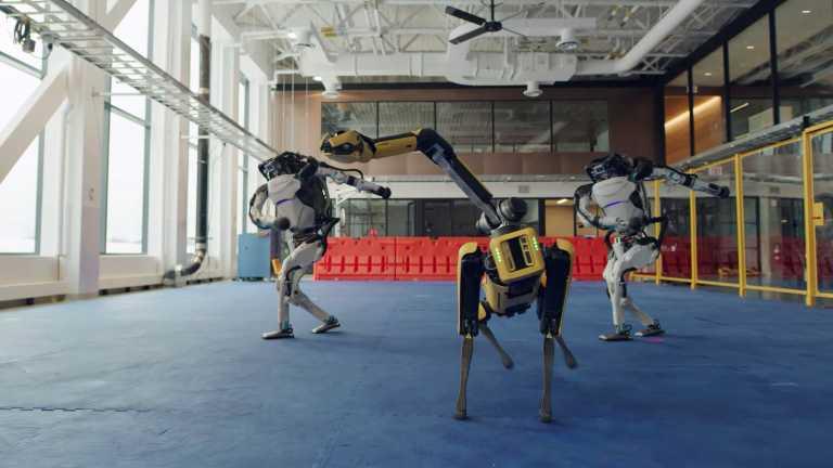 Τα ρομπότ χορεύουν υπέροχα (video)