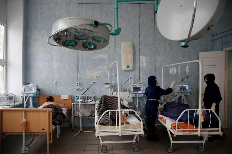 Ρωσία: 597 νεκροί και πάνω από 21.000 νέα κρούσματα κορονοϊού