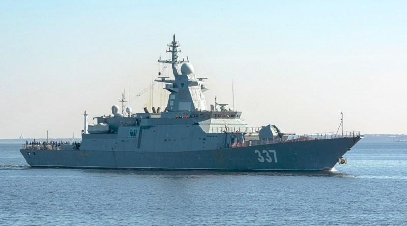 """Καθελκύστηκε το """"καμάρι"""" του Πούτιν – Αυτή είναι η νέα προηγμένη κορβέττα του ρωσικού Ναυτικού!"""