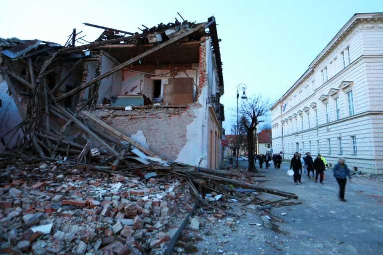 Σεισμός στην Κροατία: Πέντε νεκροί