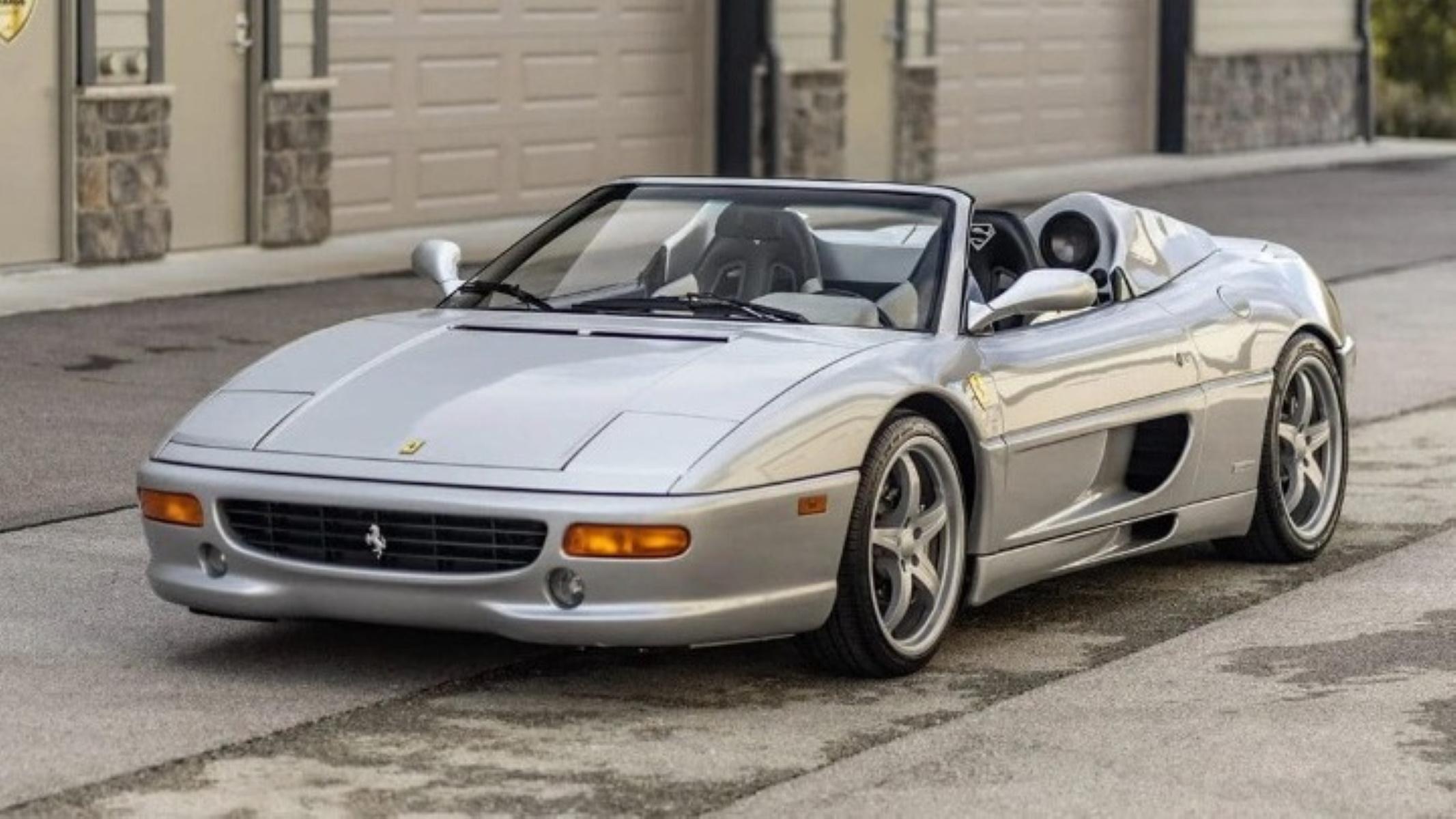Πωλείται σε δημοπρασία η Ferrari F355 Spider του Σακίλ Ο' Νιλ