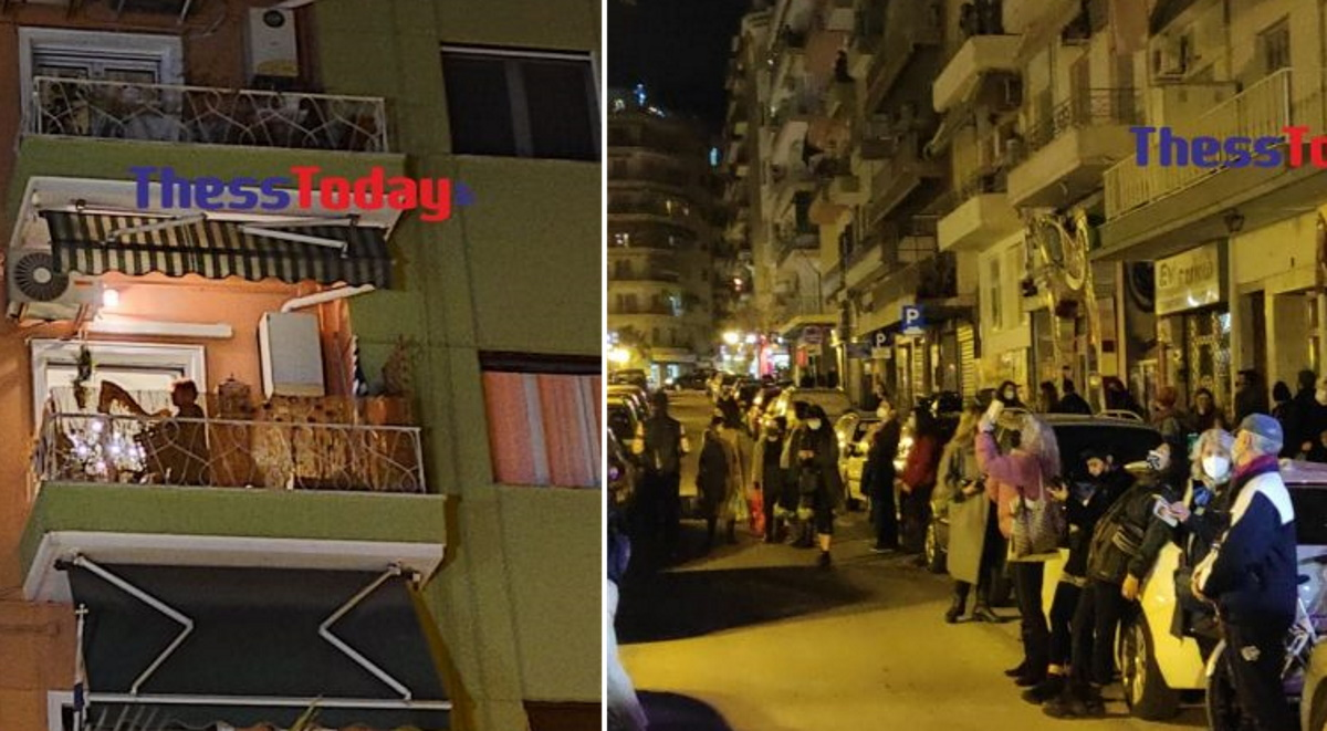 Συναυλία «μπαλκονάτη» στη Θεσσαλονίκη και από κάτω χαμός (video)