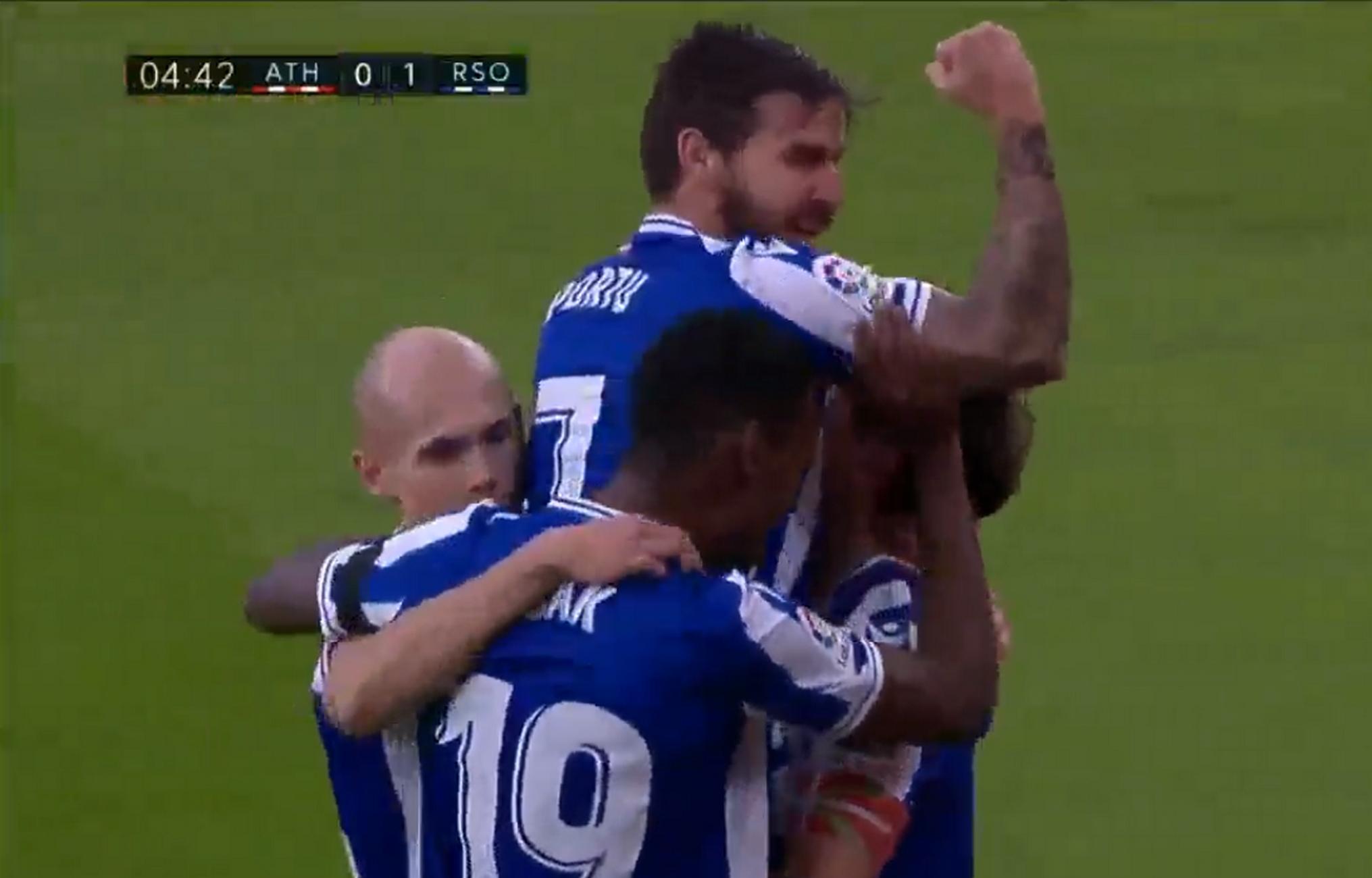 «Χτυπάει» Champions League η Σοσιεδάδ μετά και το διπλό στο ντέρμπι των Βάσκων (video)