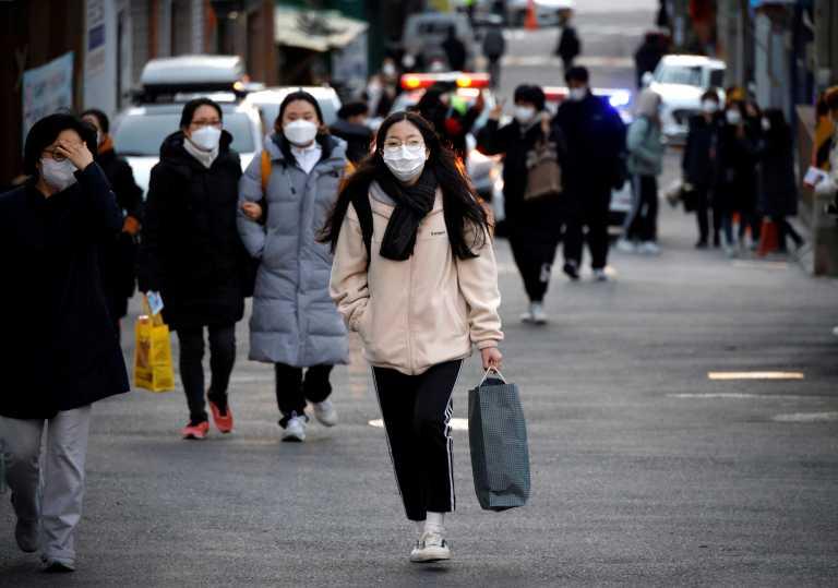 Νότια Κορέα: 583 νέα κρούσματα και αύξηση περιορισμών στη Σεούλ
